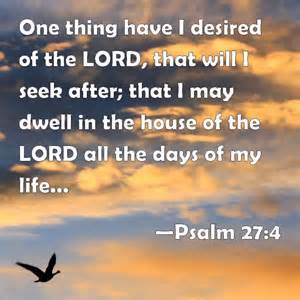 Psa 27-4 seek the Lord, sky