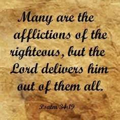 Psa 34-19 afflictions, script