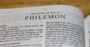Philemon title, bible