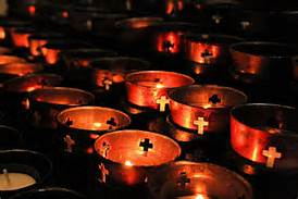 candles, votive prayer