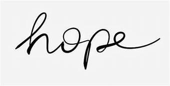 hope - cursive