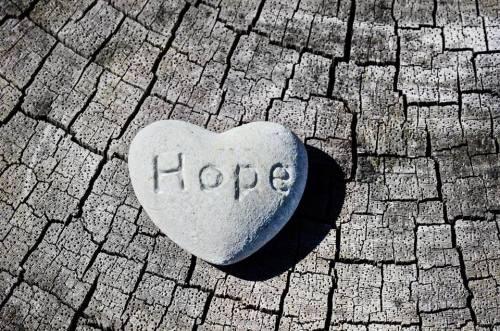 hope heart stone