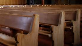pray, church pews