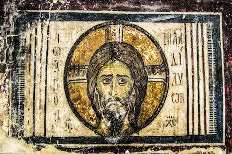 Jesus, medieval face