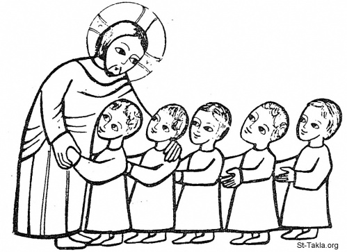 Jesus and Coptic-Children-01